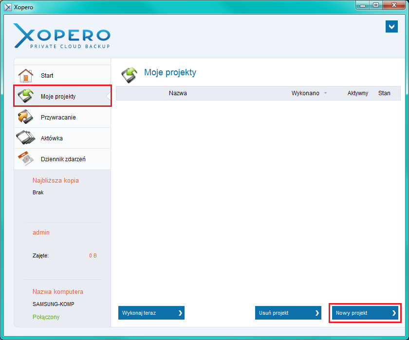 Xopero-create-project.png